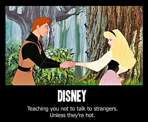 disney dont-talk-to-strangers advice - 7074999808