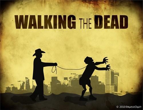 zombie TV The Walking Dead - 7075132928