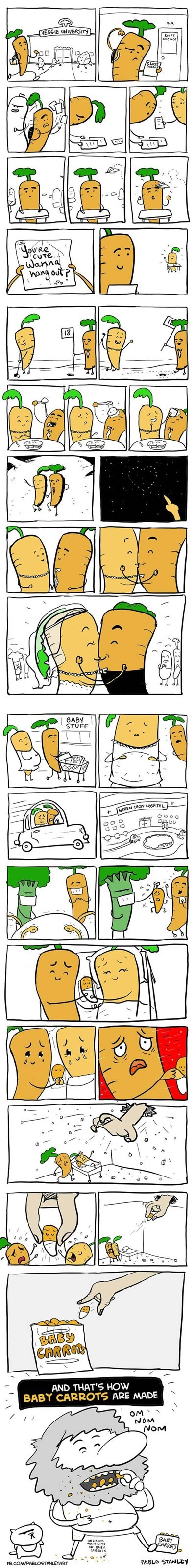 childbirth,comics,puns,carrots,g rated,Parenting FAILS