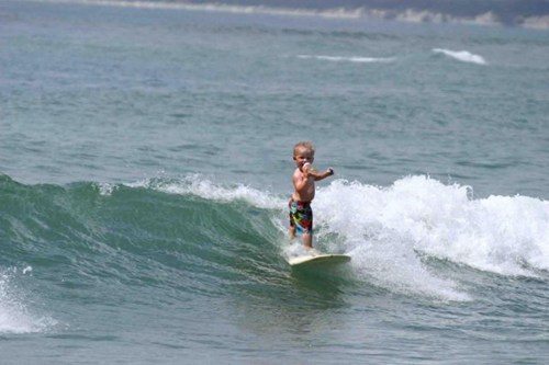 baby surfing,photoshop,surfing,hang ten