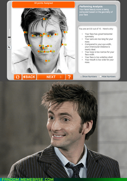 anaface David Tennant 10th doctor doctor who - 7075229952