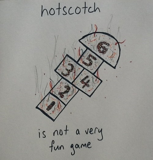 scotch,hot,similar sounding,hopscotch,prefix