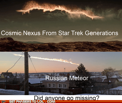 missing meteor totally looks like generations Star Trek - 7075458560
