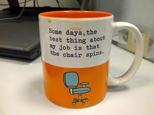 chair office chair coffee mug