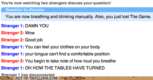 Omegle,the game
