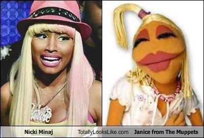 muppets TLL nicki minag janice - 7075670528