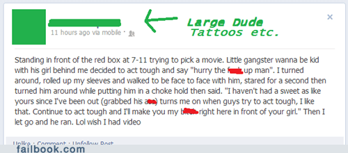 owned tough guy tattoos failbook