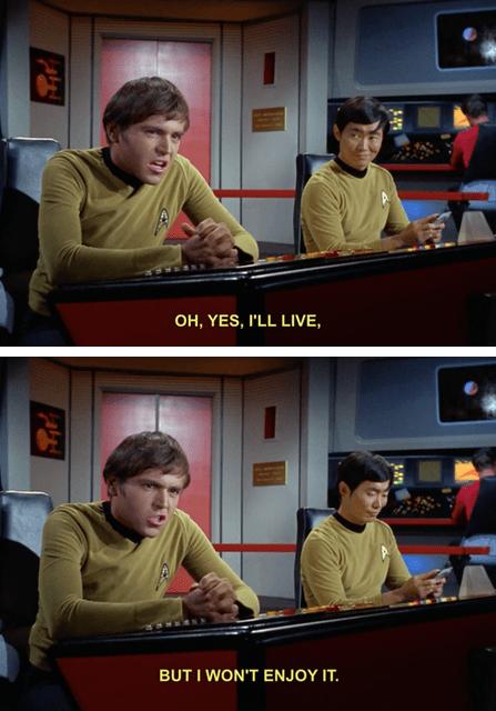 comic,Star Trek,george takei,walter koenig