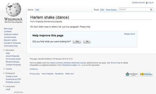 whoops harlem shake wikipedia - 7077551616