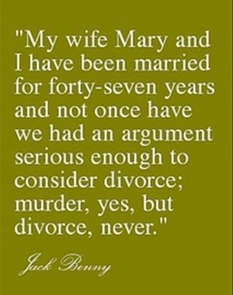 murder,jack benny,argument,quote
