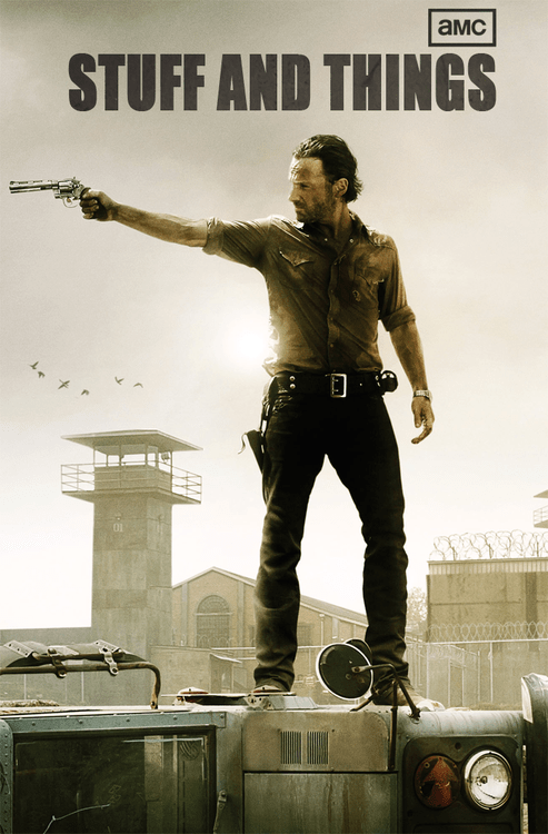Andrew Lincoln poster amc TV The Walking Dead - 7077564928