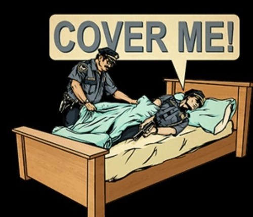 cover cover me double meaning police literalism - 7077574656