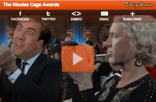 Awards college humor nicolas cage - 7077574912