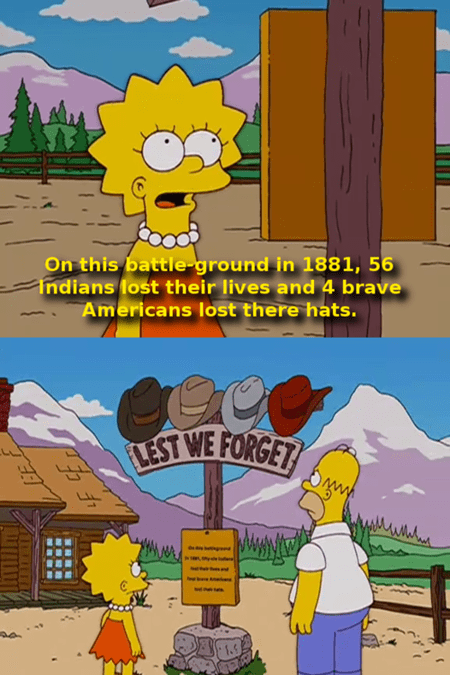 TV america simpsons native americans