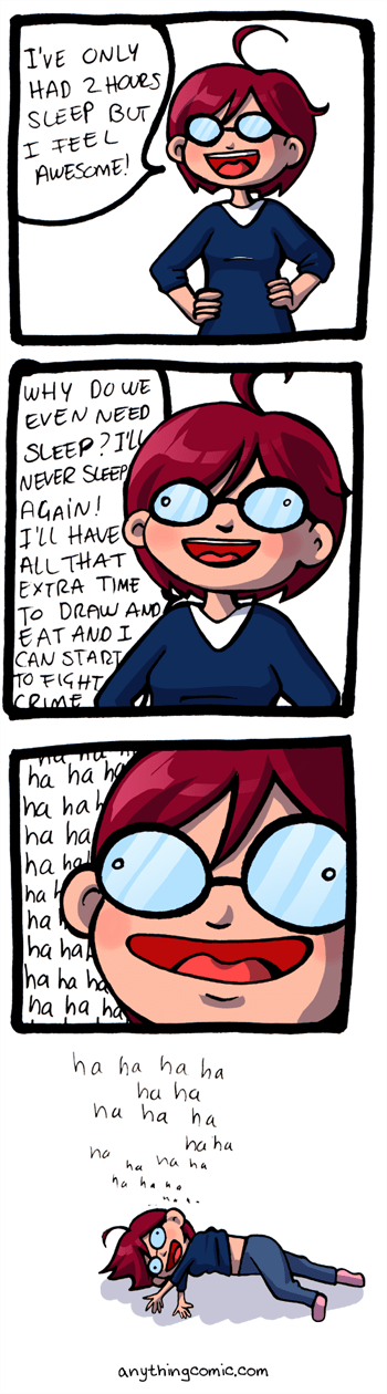 sleep deprived comic - 7077615360