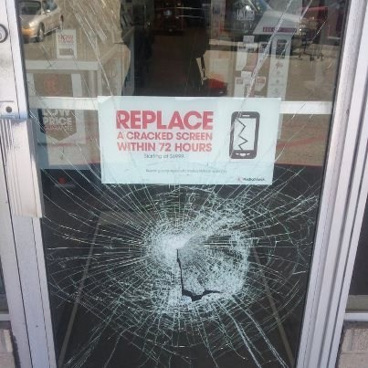 repairs,phone,irony,screen