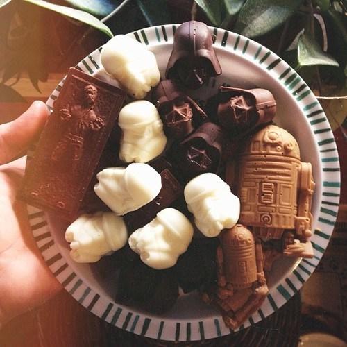 star wars design nerdgasm chocolate food - 7077686784
