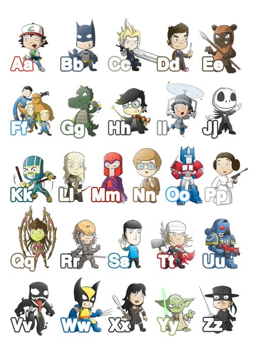 alphabet,Fan Art,abcs