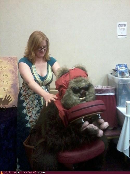 ewok massage - 7077814784