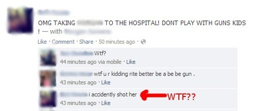 hospital,playing with guns