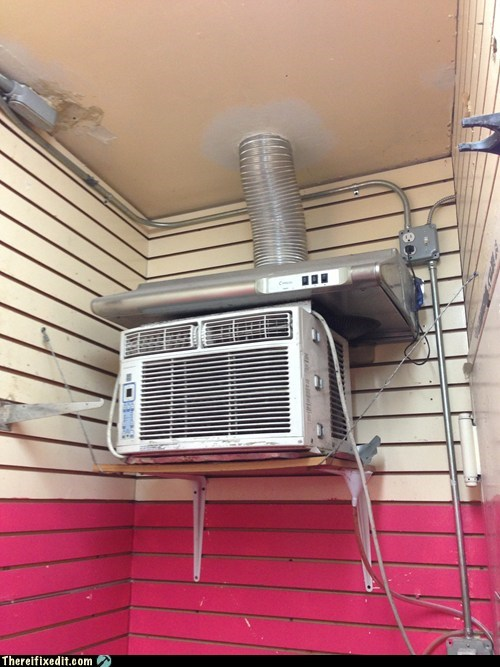 heating unit ac exhaust air conditioning - 7077825536
