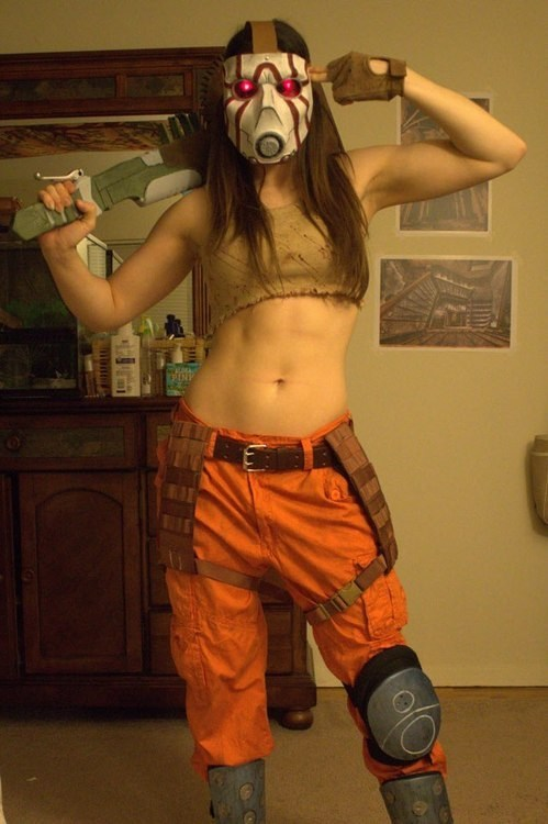 psycho borderlands cosplay video games - 7077850880