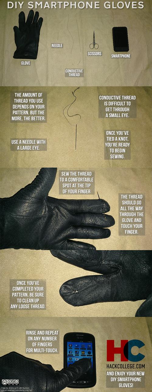 hack college gloves DIY - 7077862656
