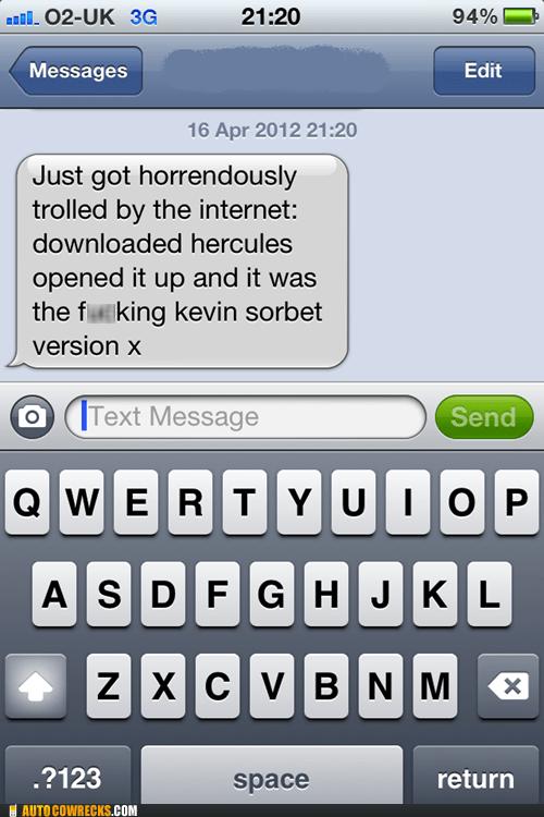 iPhones,Hercules,trolled,Kevin Sorbo