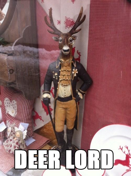 dear lord literalism exclamation deer dear homophone