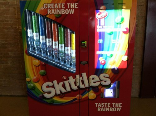 candy,vending machine,skittles,g rated,win