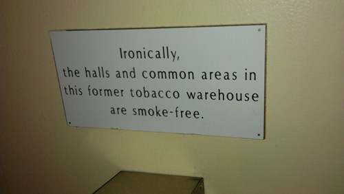 irony,sign,smoking