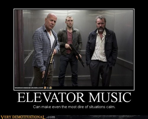 Music,elevator,bruce willis,calm