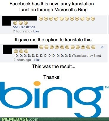 bing,translation,facebook
