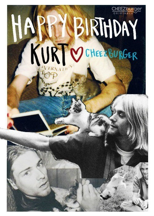 cheezburger original kurt cobain nirvana - 7079762688
