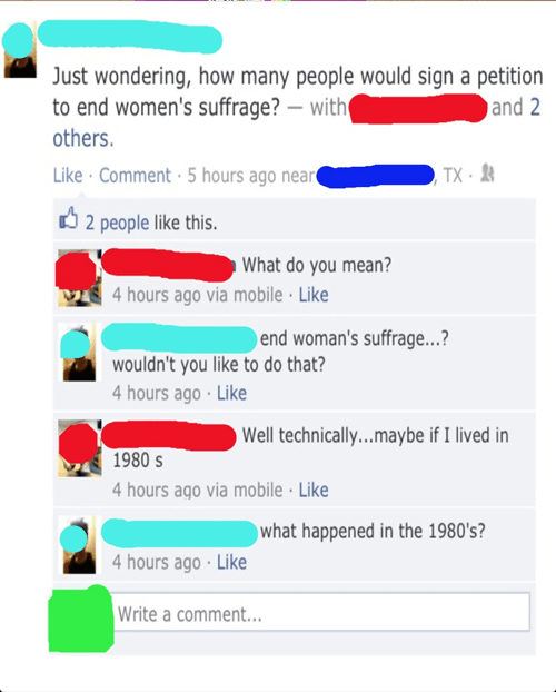 right to vote womens-suffrage feminism - 7079783168