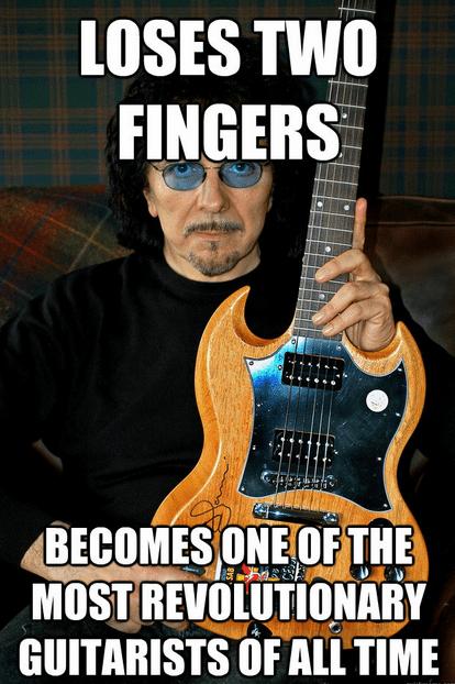 black sabbath guitars tommy iommi