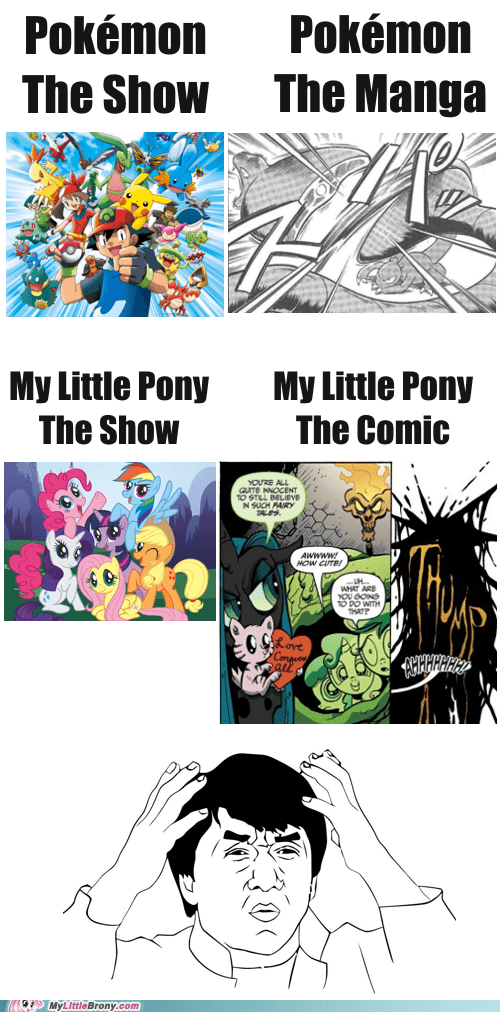 Pokémon my little pony comics they can still be good - 7079878144