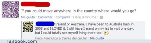 australia Ireland geography - 7079882496