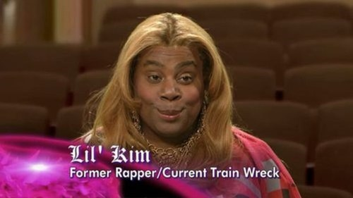 Tracy Morgan,rappers,lil kim