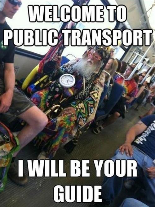crazy guy public transportation wizards bus - 7079939584