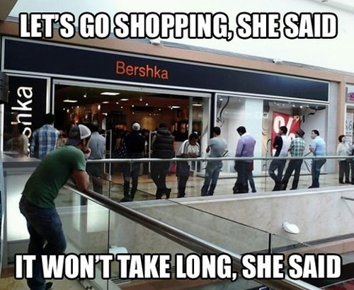 shopping,relationships,They Said
