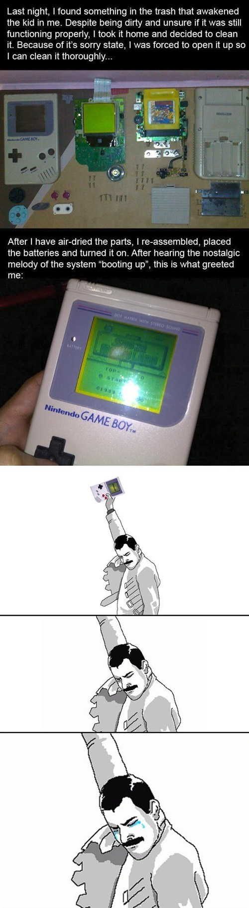 faith in humanity restored game boy fixed nintendo - 7080099584