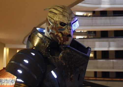 cosplay,mass effect 2,garrus vakarian,video games