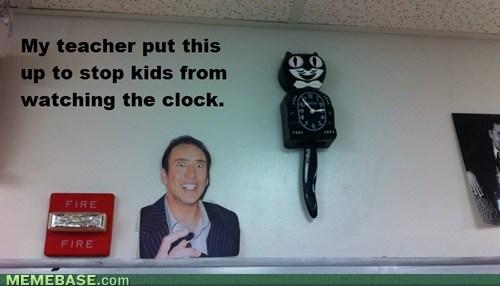 school clocks nicholas cage truancy story - 7080166656