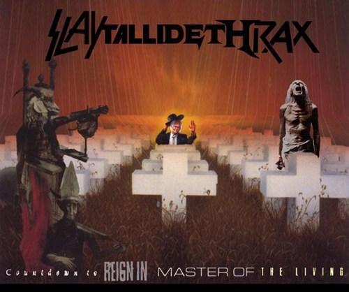 anthrax megadeth metallica slayer heavy metal - 7080242688