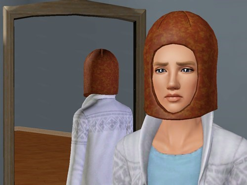 hotdog head The Sims - 7080356352