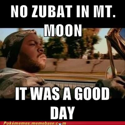 mt-moon,zubat,meme,good day