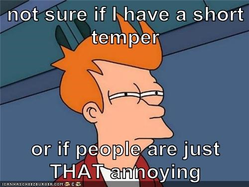 what makes people short tempered
