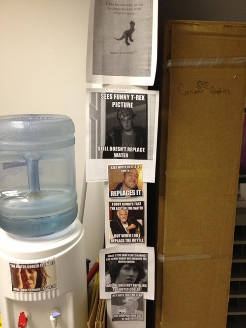 Memes water cooler out of hand monday thru friday g rated - 7080493824