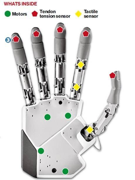 medicine bionic hand science - 7080501760
